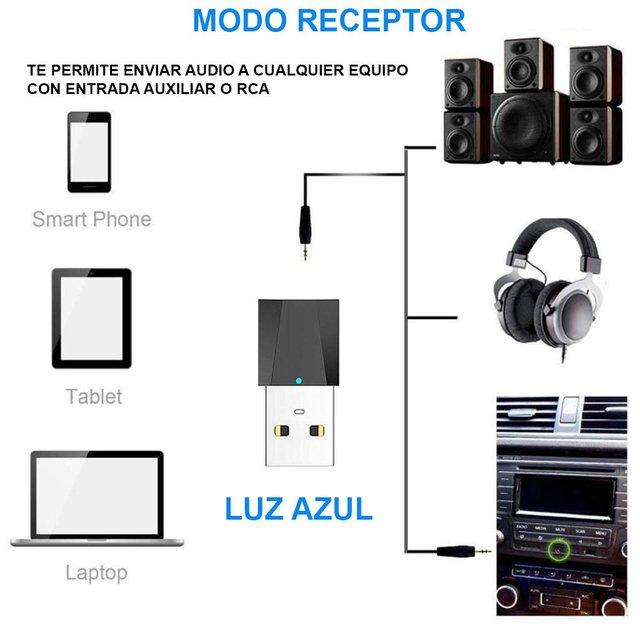 Conexión Adaptador Bluetooth