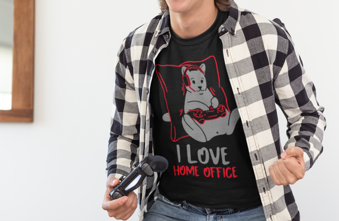 Ropa Gamer: I love Home Office