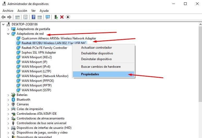 Cómo saber si mi placa WiFi soporta redes 5 Ghz