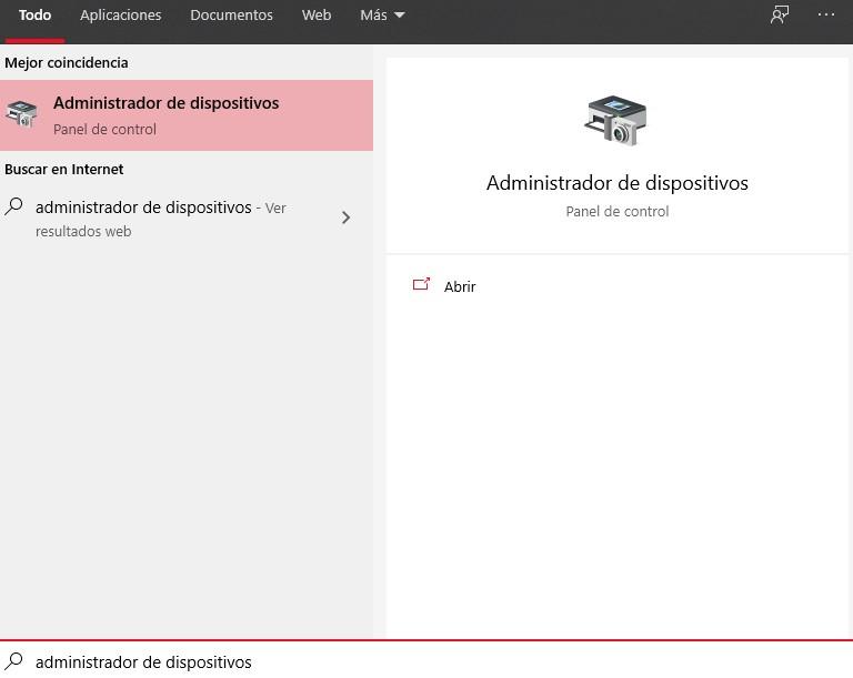 Verificar la versión del adaptador bluetooth