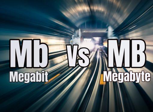 ¿Cuál es la diferencia entre Megabit y Megabyte?